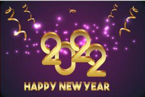 nieuwjaarswensen 2022 paars